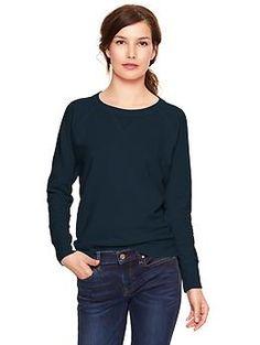 Terry sweatshirt--$35 at Gap