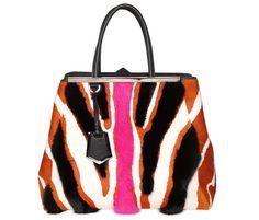 2090e199ddf6 The Fendi 2Jours Fur Runway Totes Have Landed - PurseBlog Trendy Handbags