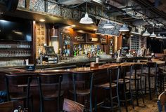 Dinosaur Bar-B-Que Unearths a Smoked Meat Emporium in Chicago Outdoor Restaurant, Restaurant Bar, Restaurant Interiors, Restaurant Design, Midwest Vacations, Best Vacations, Chicago Location, Chicago Restaurants, Romantic Restaurants