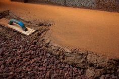 Earthen Floors - Eco friendly flooring systems - Jeffrey The Natural Builder Kevin Mccloud, Eco Friendly Flooring, Natural Flooring, Rammed Earth, Earth Homes, How To Dry Basil, Beach Mat, Outdoor Blanket, Floors