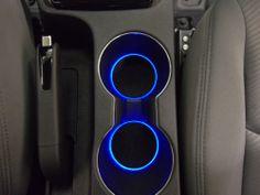 Details about LED Cup Holder Lights - Blue LEDs - Fits 2011-2015 Hyundai Elantra…