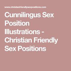 Cunnilingus Sex Position Illustrations - Christian Friendly Sex Positions