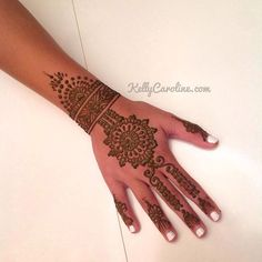 A fun new henna desi