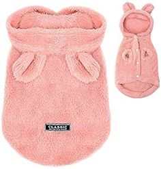 PET ARTIST Winter Warm Small Dog Pajamas Coats for Puppy,Cute Rabbit Design Pet PJS Jumpsuit,Soft Fleece Hoodie Clothes for Chihuahua Yorkie Poodles ** Check out the image by visiting the link. (This is an affiliate link) Small Puppies, Small Dogs, Cute Puppies, Dogs And Puppies, Small Dog Coats, Small Dog Sweaters, Yorkie Poodle, Puppies In Pajamas, French Bulldog Clothes
