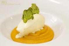 Indischer Möhrenpudding (Gajar Halwa) mit Vanille-Eiscreme » Falk Kulinarium