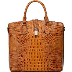 Vicenzo Leather Dione Croc Embossed Top Handle Leather Tote ($173) ❤ liked on Polyvore featuring bags, handbags, tote bags, brown, brown leather pouch, brown leather tote, leather purses, brown tote and brown leather handbags