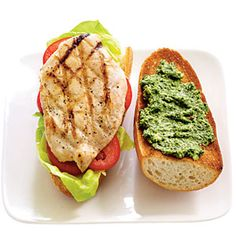 Pair Pesto With Grilled Chicken or Fish | CookingLight.com