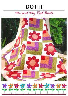 Dotti Flower Quilt Pattern   Craftsy