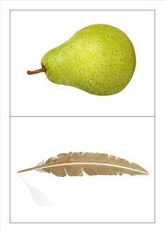 Kringspel rijmen: peer - veer Language Activities, Toddler Activities, Fruits Drawing, Pear, Google, Fruit Fruit, School, Healthy Food, Letters