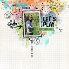 let_splay by arte banale - love the digi elements!
