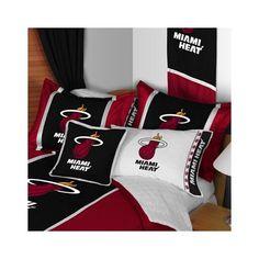 Sports Coverage Inc, Miami Heat Bedding