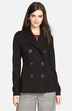 Bailey+44+Double+Breasted+Peacoat+(Nordstrom+Exclusive)+available+at+#Nordstrom