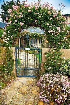 Cottage garden gate | Gates | Pinterest