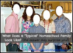 """What Does a """"Typical"""" Homeschool Family Look Like?"""