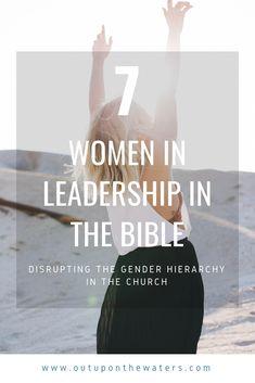 7 women in leadership in the Bible Leadership In The Bible, Leadership Lessons, Women In Leadership, Leadership Qualities, Leadership Coaching, Leadership Development, Leadership Quotes, Spiritual Leadership, Leadership Activities