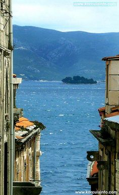 Marco Polo Apartments: Lovely views over Korcula Archipelago - photo taken from our window :)