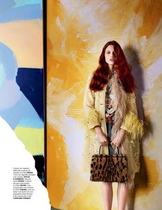 Julia Banas Models Romantic Styles for Vogue Portugal - Fashion Gone Rogue