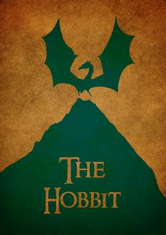 The hobbit movie poster. 11.7x16.5, A3 paper.. $15.00, via Etsy.