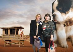 The Applied Underwriters Big Dog photo booth debuts at the AAMGA show in MD.