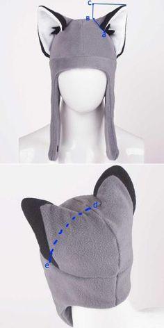 Зимние шапки из флиса