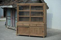 Teak Schrank 200cm Modern Teak Furniture, China Cabinet, Best Sellers, Tall Cabinet Storage, Modern, Home Decor, Top, Closet, Crockery Cabinet