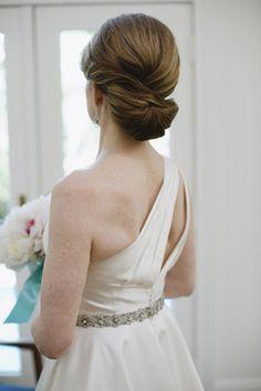 sleek chignon | Cameron & Kelly Studio #wedding