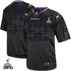 ca94b8272bf Broncos Demaryius Thomas 88 jersey Nike Ravens Ray Lewis New Lights Out  Black Super Bowl XLVII Men s Stitched NFL Elite Jersey Jaguars Jalen Ramsey  20 ...