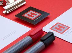 Eco Edge Homes Logo Design by Studio Alto #logo #branding #stationery #corporate #letterhead #business #card