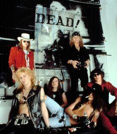 Guns N' Roses, Axl Rose, Duff Mckagan, Slash, Dizzy Reed, Izzy Stradlin, Matt Sorum