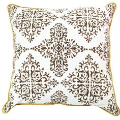 Allem Studio Patola Ebony Pillow