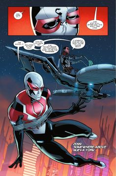 Preview: Spider-Man 2099 #14, Story: Peter David Art: Will Sliney Cover: Francesco Mattina Publisher: Marvel Publication Date: August 31st, 2016 Price: $3.99    CIVI...,  #All-Comic #All-ComicPreviews #Comics #FrancescoMattina #Marvel #PeterDavid #previews #Spider-Man2099 #WillSliney