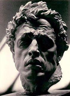 Arno Breker Sculpture Head, Sculptures Céramiques, Sculpture Moderne, Modern Sculpture, Statues, Art Advisor, Portrait Hommes, Arno, Sculpture Argile