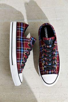 Converse Chuck Taylor All Star Plaid Low Top Sneaker - Urban Outfitters