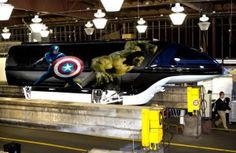 Marvel's 'The Avengers' Monorail to Debut This Spring at Walt Disney World Resort