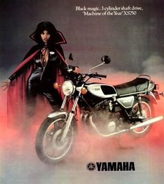 Yamaha XS750 - Vintage Motorcycle Ad
