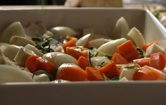 Caprese Salad, Vegetables, Cooking, Food, Kitchen, Veggies, Kochen, Vegetable Recipes, Meals