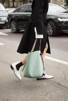 The Best, Worst, and Craziest Bags of Fashion Month: It's not photographer bait, but it is a classic bag. Best part: You could carry it next season, too.