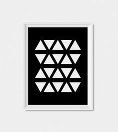 Digital Download Art Black And White Wall Print par LimitationFree