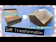 En recyclant une boîte à chaussures, vous pouvez bricoler cet accessoire de rangement pratique ! - Bricolages - Des bricolages géniaux à réaliser avec vos enfants - Trucs et Bricolages - Fallait y penser !