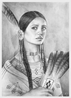 Native American by AJdorable