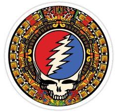 2012 Mayan Steal Your Face - Full Color | Sticker