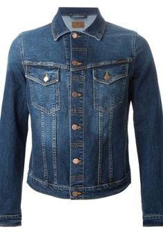 nudie jeans Blue Denim Jackets Blue #alducadaosta #newarrivals #spring #summer #men #fashion #style #accessories #apparel #nudiejeans