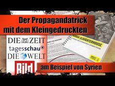 Amnesty: Der Propagandatrick mit dem Kleingedruckten (am Beispiel Syrien) | 12.03.2017 | www.kla.tv - YouTube