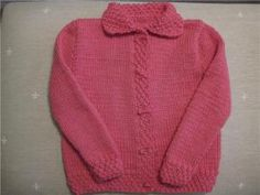 Chaqueta lana niñas 3