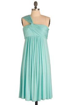 The Fluid Dynamics Dress in Aero, is nice, but the one that's currently available is the teal version. I like both of them a lot. They're very light and airy looking and the shape of the dress suits most people. It's $49.99, and it's pretty much a steal, because you're guaranteed to wear it again and again.