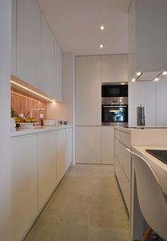 Interior metamorphosis II , Warsaw, 2014 - Disenio. interior design #kitchens