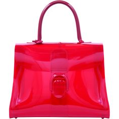 Delvaux Pink Jelly bag