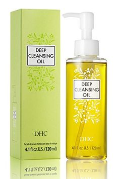 2 X DHC Deep Cleansing Oil Facial Cleanser for sale online Dry Face, Face Skin, Makeup Remover Pads, Cleansing Oil, Best Face Products, Facial Products, Facial Oil, Dry Hands, Oils For Skin
