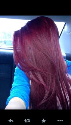 I want this hair someday. It's red but not overpowering and not too dark of a red where it's flat. I want it.