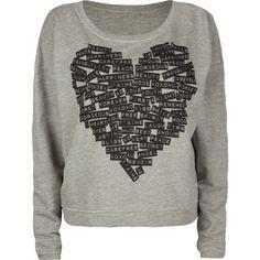 FULL TILT Heart Sweatshirt